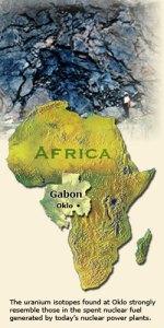Oklo Mine, Gabon, Africa
