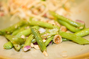 Green Bean and Hazelnut Salad | What's Behind Doerr Number One
